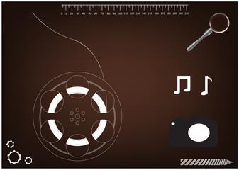 3d model wheels for a film