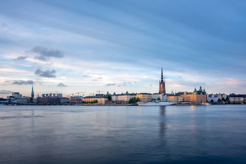 View on the Gamla Stan in Stockholm, Sweden.
