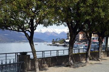 Uferpromenade in Bellagio am Comer See