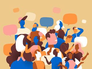 Folla parlante