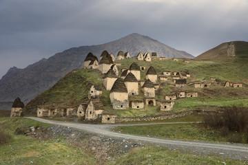 City of the dead in North Ossetia-Alania, Russia
