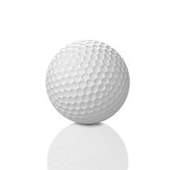 White golf ball. 3D Illustration