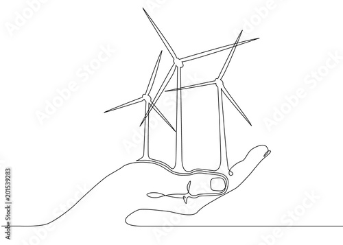 Wind Turbines Alternative Energy Stock Photo And Royalty Free