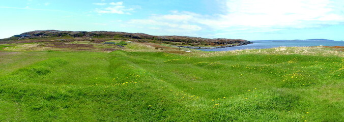 L'Anse aux Meadows panoramic view