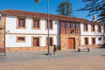 Escuela municipal de ajedrez de la Villa de Teror Gran Canaria Kanaren island Spain