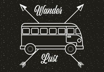Wanderlust Badge Set