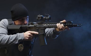 Law Enforcement Agent Studio Shoot