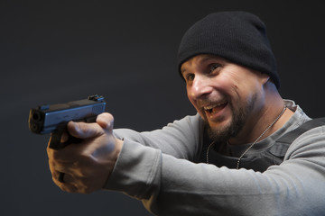 Law Enforcement Agent Studio Shoot 6