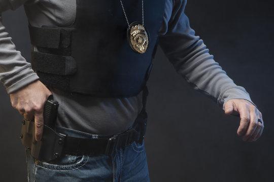 Law Enforcement Agent Studio Shoot 8