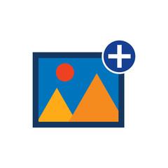 Add Picture Icon Design
