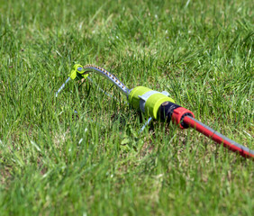Gartenschlauch / Gartenschlauch mit Wassersprinkler