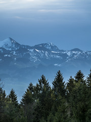 Aluminium Prints Alpen