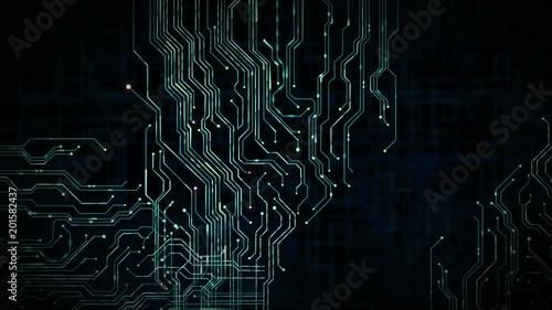 Printed Circuit Background Loop