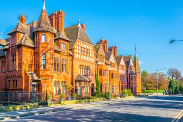 Fototapeta Brick houses in Chester, England obraz