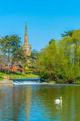 Photo sur Toile Europe Centrale Holy Trinity Church in Stratford upon Avon, England