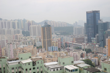 Kwun Tong , Residential building and Business Area