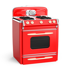 vintage stove 50s