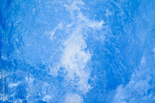 Beautiful Swimming Pool Blue Water Background Spa And Jacuzzi Water