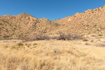 Poster Hill Arizona desert mountains