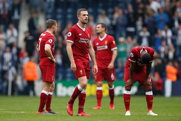 Premier League - West Bromwich Albion v Liverpool