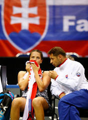 Fed Cup - World Group Play-Off - Belarus vs Slovakia