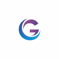 G letter logo design for web, icon, or company