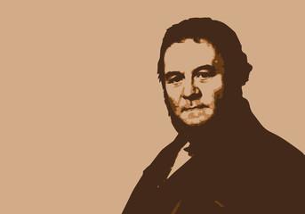 Stendhal - écrivain - portrait - romancier - personnage célèbre - littérature - livre - roman - littéraire