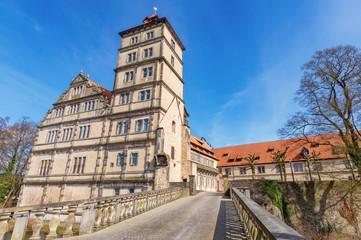 Wasserschloss Schloss Brake in Lemgo, Nordrhein-Westfalen