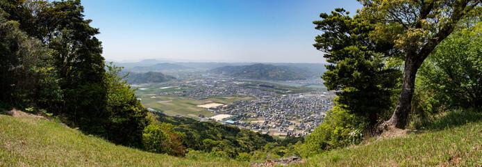 佐賀県唐津市鏡山の景色