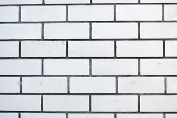 photo of white brick wall