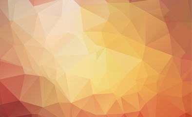 ight Yellow vector Pattern. triangular template. Geometric sample. Repeating routine with triangle shapes. New texture for your design.