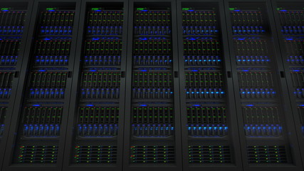 Servers in modern data center