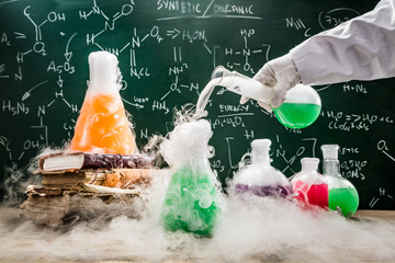 Testing green chemical reactions in school laboratory