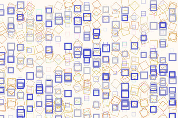 Abstract conceptual square, rectangle pattern. Cover, repeat, details & wallpaper.