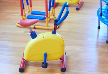 Gym for children in kindergarten.