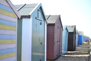 Felixstowe Beach Huts
