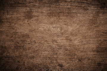 Old Grunge Dark Textured Wooden Background,The Surface Of The Old Brown Wood  Texture,