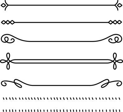 飾り線のセット