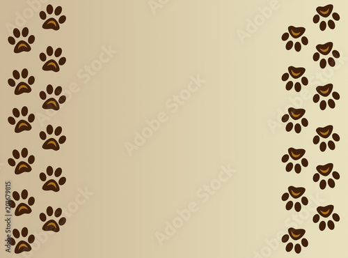 Diy Dog Paw Print Wall Art Youtube