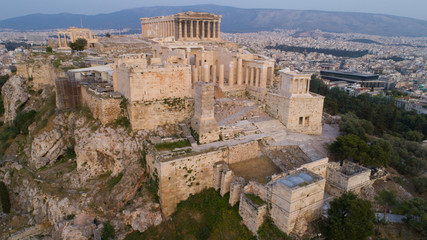 Recess Fitting Athens Aerial view of Acropolis of Athens ancient citadel in Greece