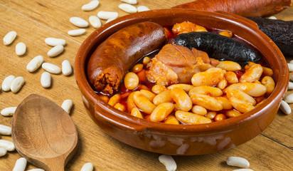 Fabada típica de Asturias