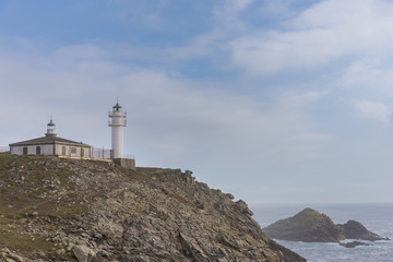 Lighthouse of Cabo Tourinan (Muxia, La Coruna - Spain).