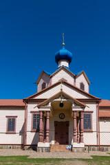 Orthodox church of St. Apostle James in Losinka, Podlasie, Poland