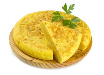 Tortilla de patatas, tapa