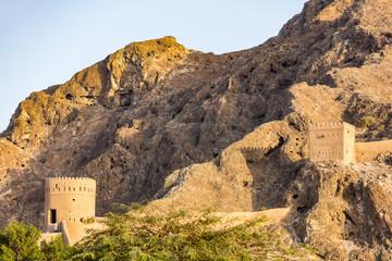 Burg in Muskat (Oman
