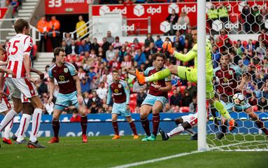 Premier League - Stoke City v Burnley