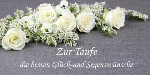 Fototapete - Zur Taufe