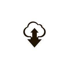 cloud icon. sign design