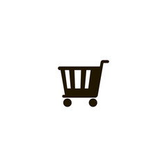 shopping cart icon. sign design