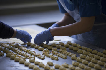 Culinary production.Industrial production of cookies and culinary products.